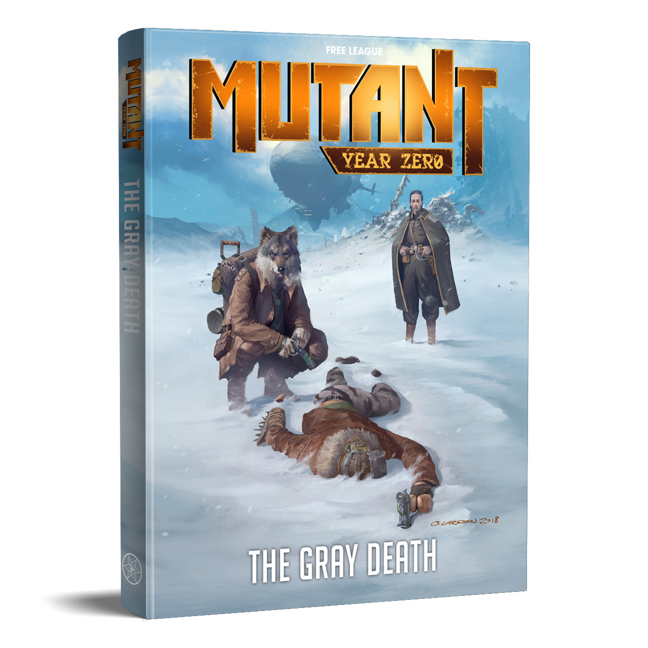 The Gray Death: Mutant Year Zero RPG (T.O.S.) -  Free League