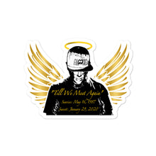 """Till We Meet Again"" Bubble-free stickers"