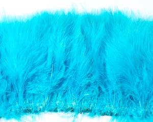 Aqua Marabou Feathers by the Pound