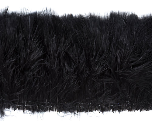 Black Marabou Feathers by the Pound