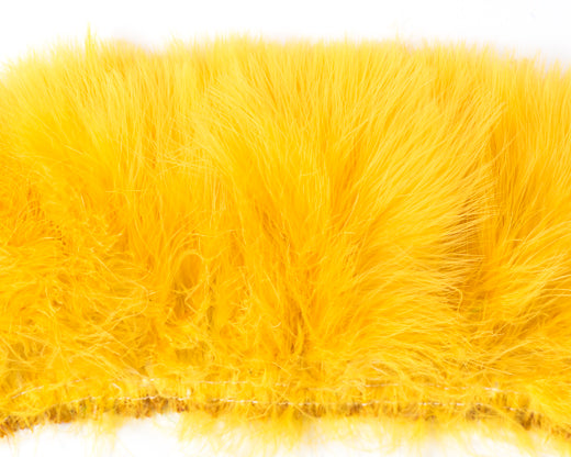 Gold Marabou Feathers by the Pound