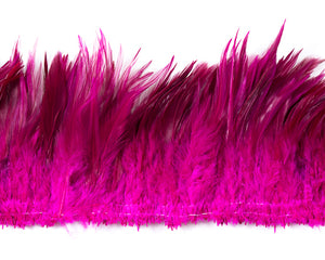 Hot Pink Saddles  Feathers 6-7 inches by the Pound