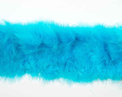 Baby Blue Marabou Feathers by the Pound
