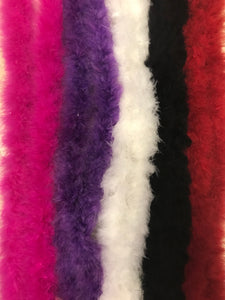 Marabou Feather Boas 25 gram (CHOOSE YOUR COLOR)