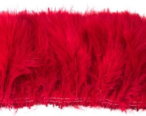 Red Marabou Feathers by the Pound
