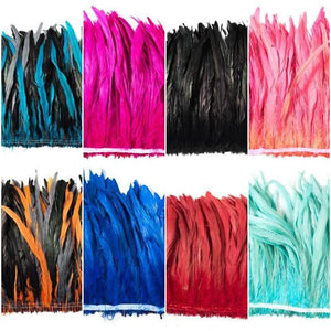 All Cocktail Feathers 12-16 inches by the FOOT or POUND
