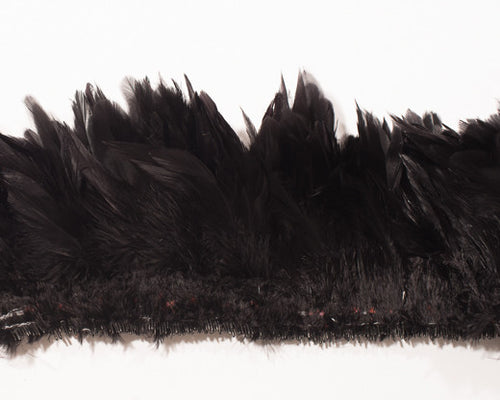 Black Schlappen Feathers by the Pound