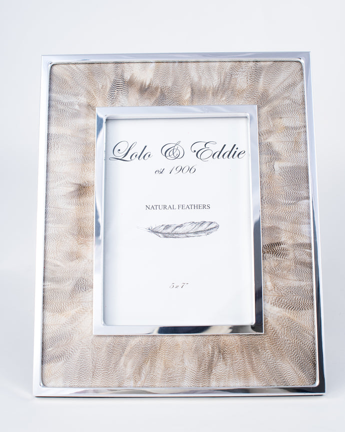 Duck Feather Picture Frame - The Willow