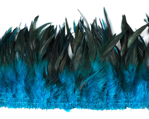 Turq Saddles  Feathers 6-7 inches by the Pound