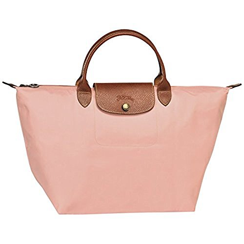 Longchamps Women's Medium Le Pliage Handbag Nylon Top-Handle Bag Tote