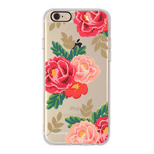 TPU Soft Flower Printed Case For iphone 7 Plus 6s Plus Fundas Gel Silicone Back Cover Celular Phone Case For iphone 6 6s 7 Capa