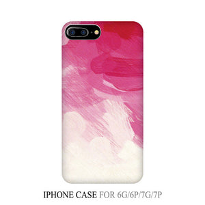 Ombre Blue to Pink Colorful Mobile Phone Case for iPhone 7&iPhone 7Plus Ombre Phone Case Caqa Gradient Ramp Phone Case IK2047-10