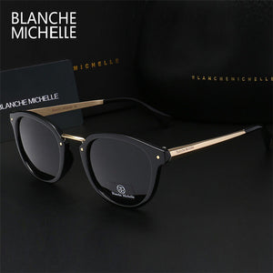 2017 Luxury polarized sunglasses women brand designer cat eye sun glasses for men uv400 oculos de sol with logo and original box