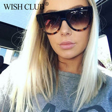 WISH CLUB 2017 Brand designer Sunglasses Women Gradient Lens Sun glasses Men Full Frame Shades Ladies Glasses Unisex oculos