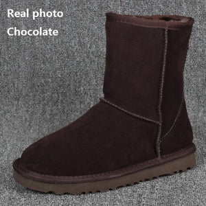 """UGG"" Women Fashion Weave Wool Snow Boots"