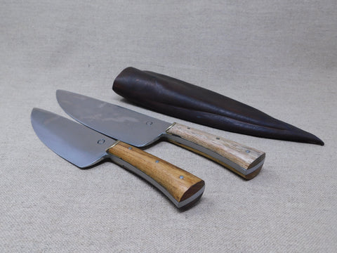 14th to 18thC Cooks Set cooking camp kitchen knives reenactment living history