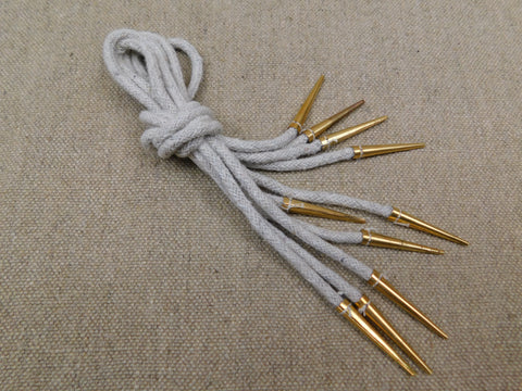 arming points medieval linen cord aiglets