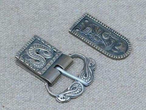 viking saxon sword belt buckle bronze cast ornate plate set migration