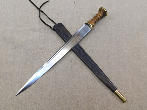 Scottish dirk dagger reenactment