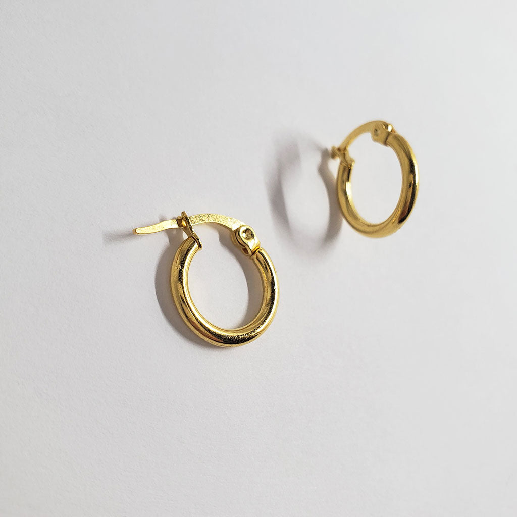 Basic Simple Hoop Earrings BA1004