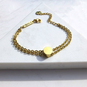 Grace Double Chain Bracelet