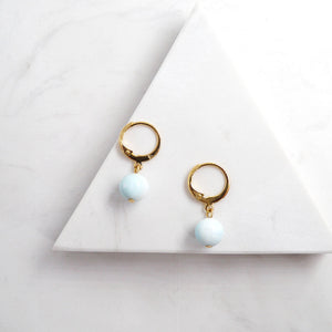 Aphrodite Larimar Earrings