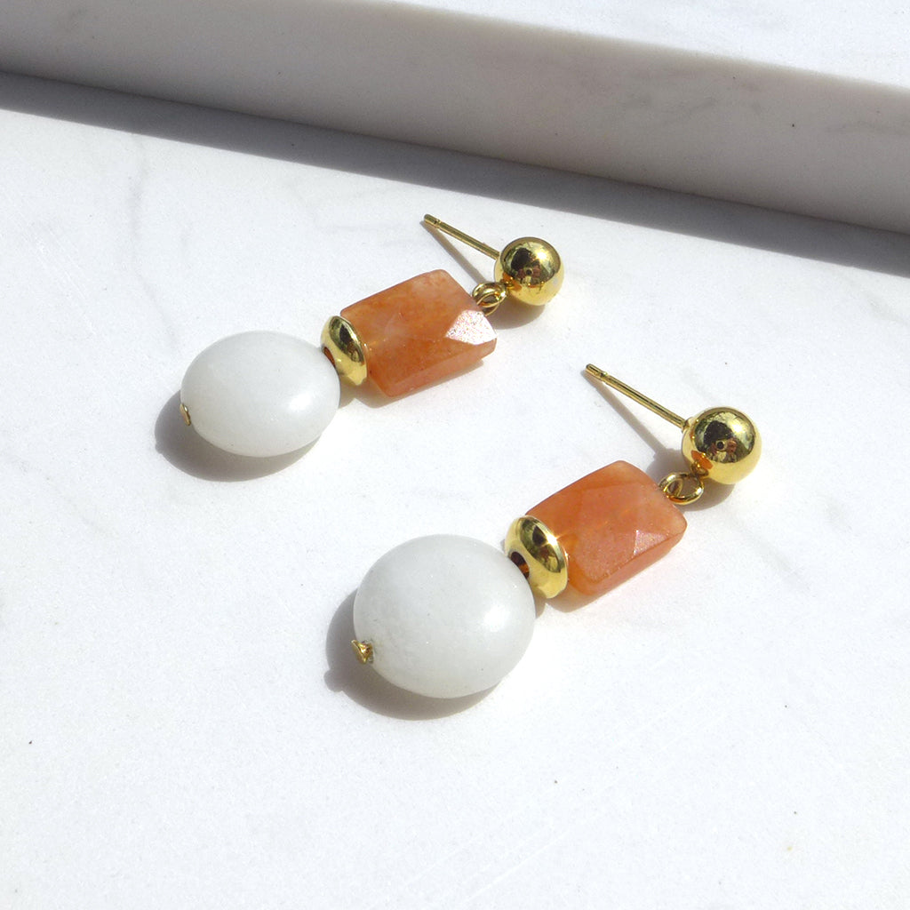 Ice Tea Drop Earrings