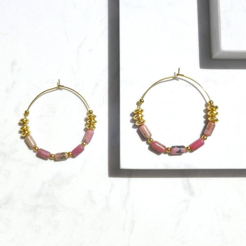 Alexandra Hoop Earrings