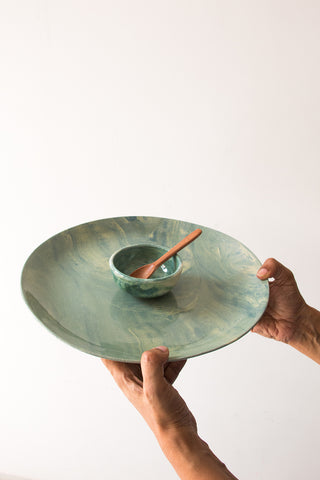 Blue Comfort Soup Bowl