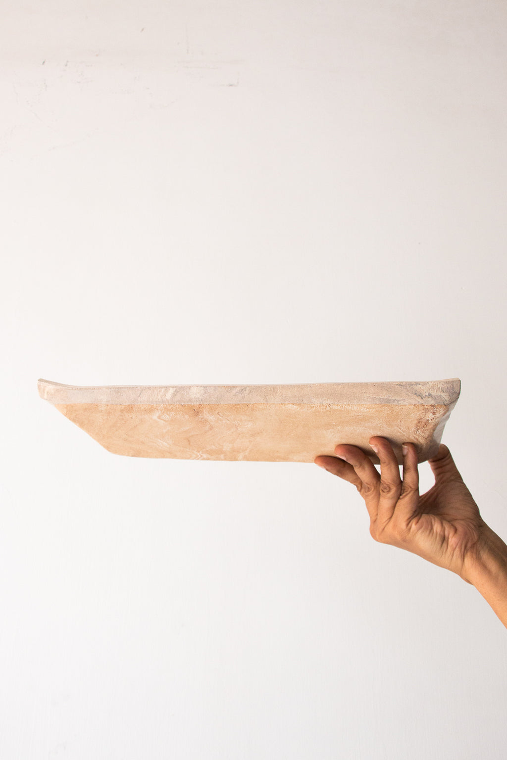 Pale Rectangular Platter