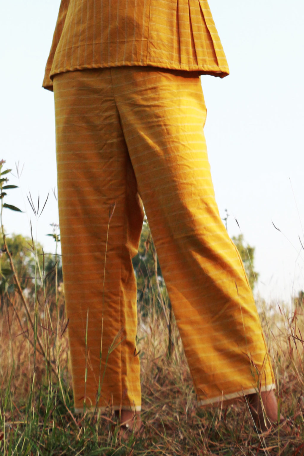 Evergreen Sunflower Pants