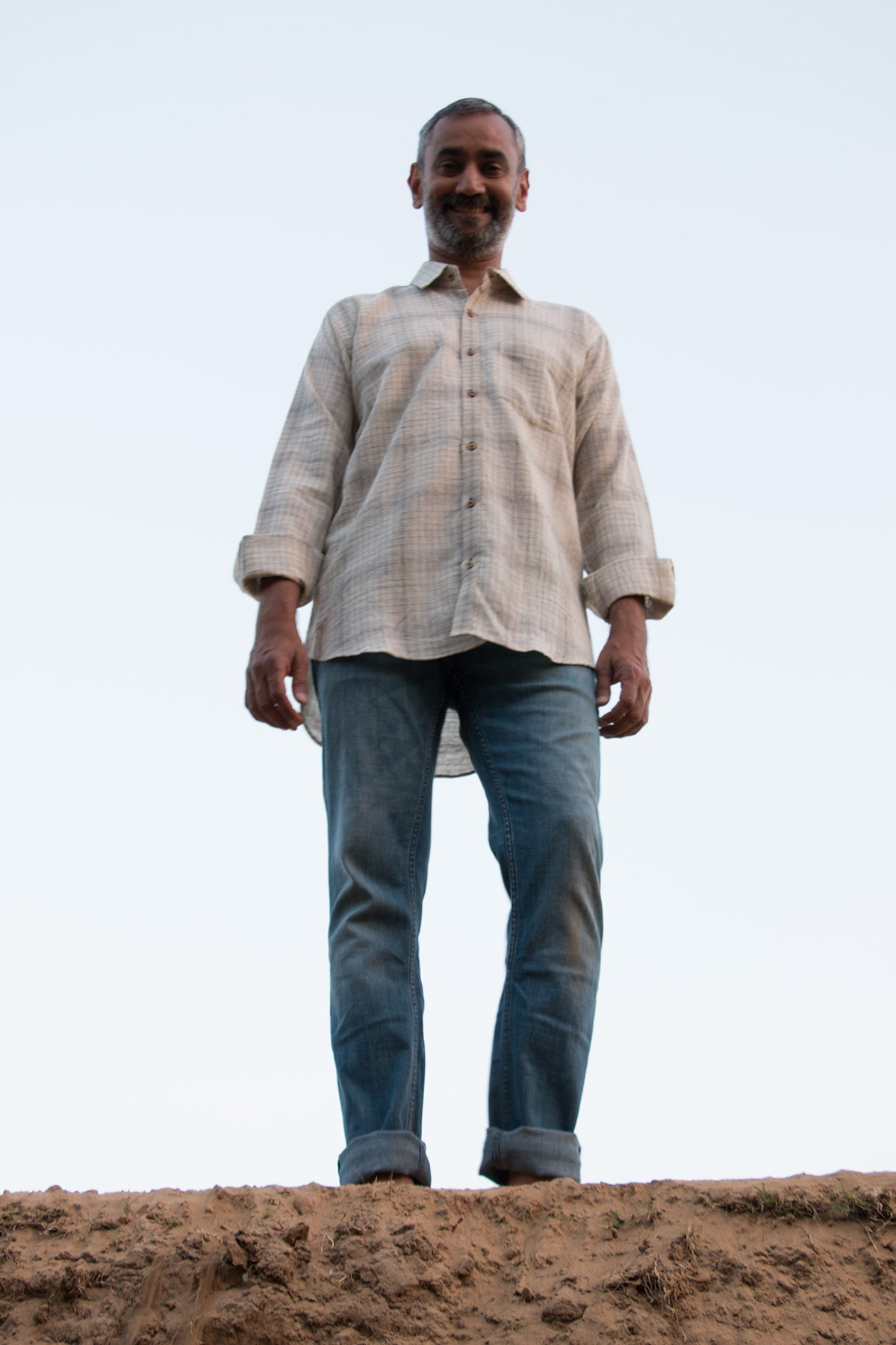 Natural/ herbal dye shirts for men
