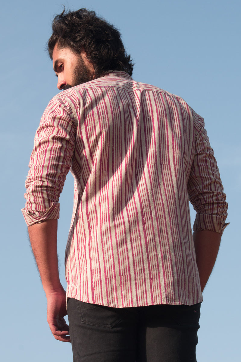 Cotton Stripes Shirt