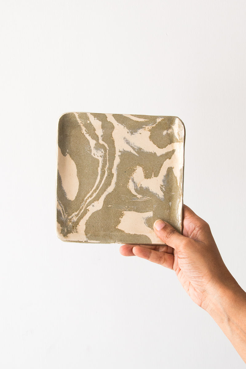 Warm Square Plate