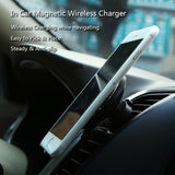 360 Degree Rotation QI Standard Phone Car Magnetic Wireless Charger