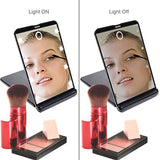 LED Lighted Makeup Mirror with 8 Dimmable Led Lights
