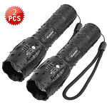 Tactical Flashlight Handheld LED Torches  Super Brightness Waterproof