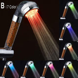 Color Water Temperature  Hand Hold Shower