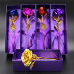 24K GOLD DIPPED ROSE WITH GIFT BOX