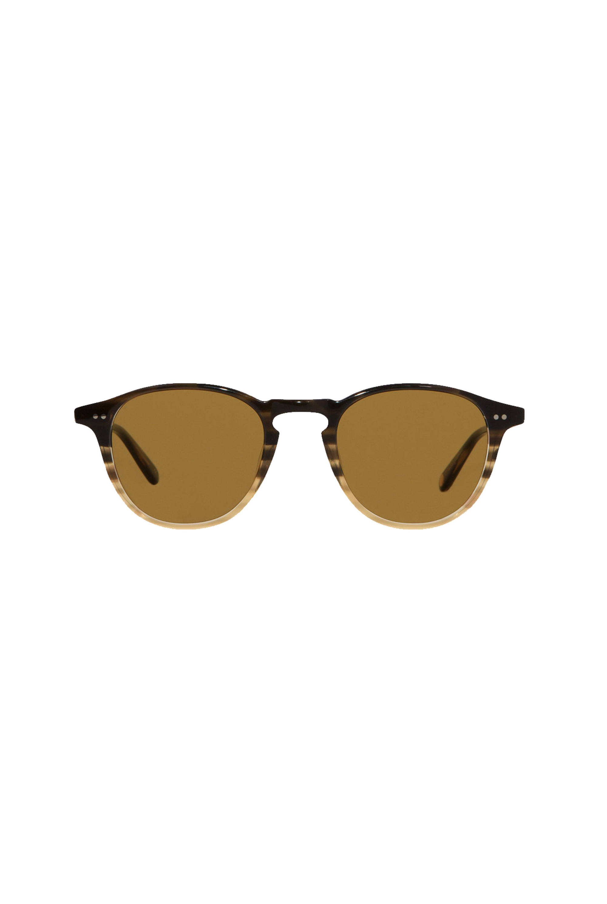 Garrett Leight Hampton - Sandalwood Drift Semi Flat Pure Coffee
