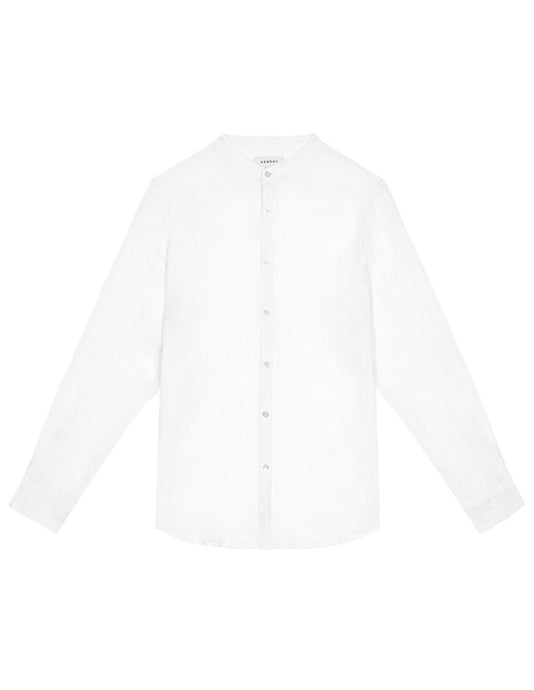 Grandad Collar - White