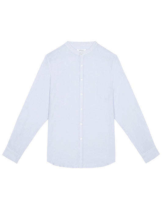 Grandad Shirt - Light Blue