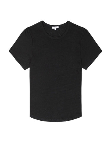 Womens Crewneck T Shirt - Black