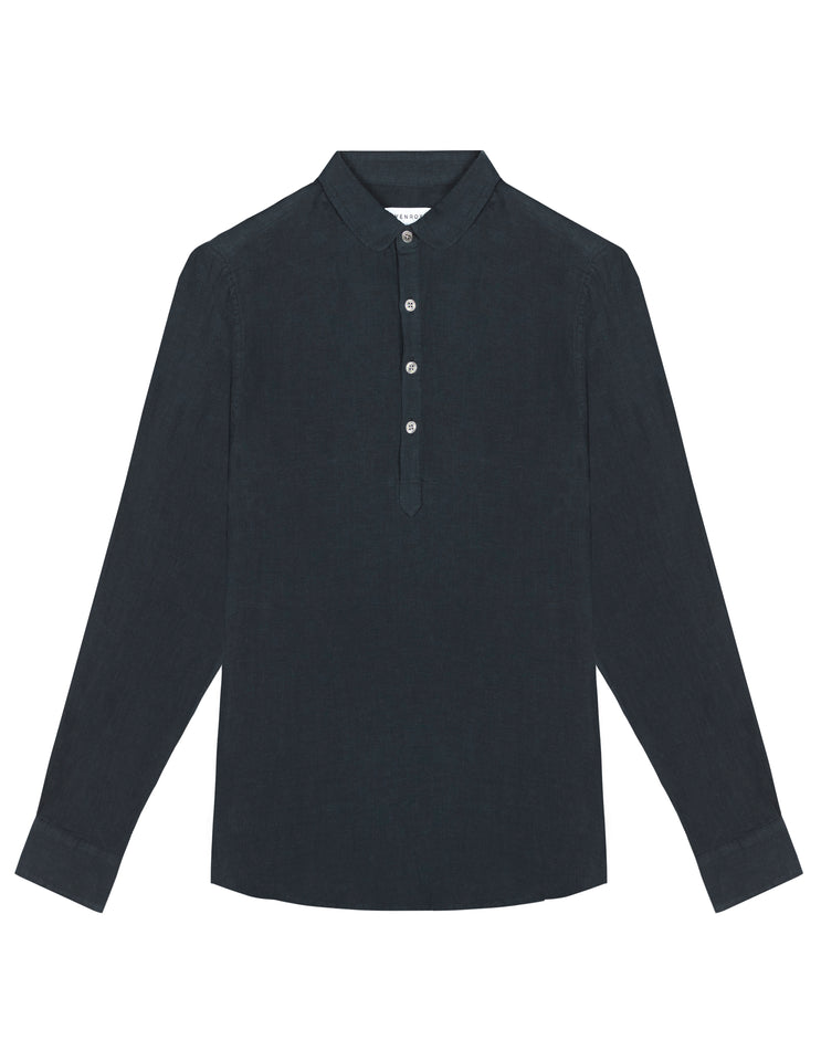 POP OVER SHIRT - NAVY