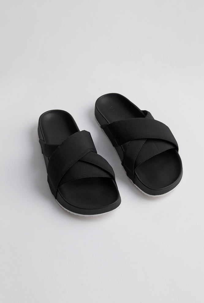 Nylon Sandal - Black
