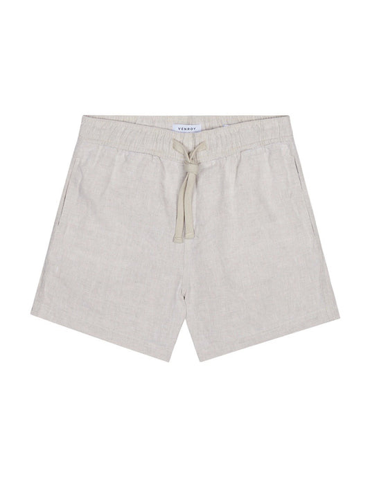 LOUNGE SHORT - BEIGE MARL