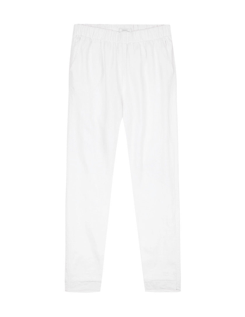 WOMENS LINED LOUNGE CHINO - WHITE