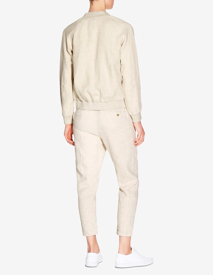 WOMENS LINED LOUNGE CHINO - SAND