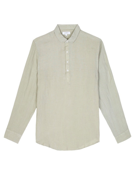 Pop Over Shirt - Sage