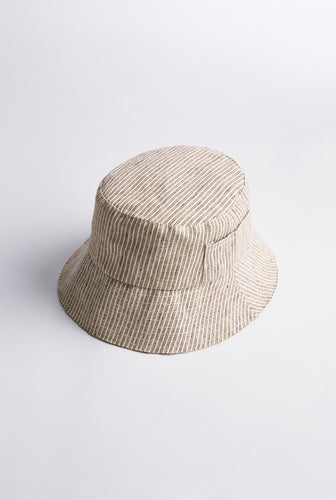 Bucket Hat - Holiday Stripe